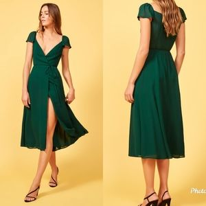 Reformation Piper Dress Size M